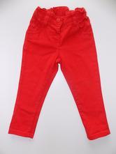 Červené kalhoty next -  vel. 86, next,86