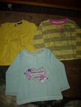 Komplet triček-bavlna vel.92/98, 92