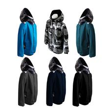 Softshellová bunda, maskáč, vel. 134 a 140, 134 / 140