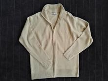 Béžový svetr na zip v bezvadném stavu příjemný, cherokee,m