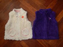 Chlupaté teplé vesty 98, next,98