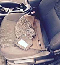 Těhotenský pás do auta besafe,
