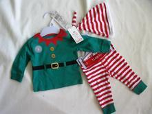 Vánoční komplet elf, f&f,62