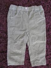 Jemné manžestr. kalhoty v. 80, okay,80