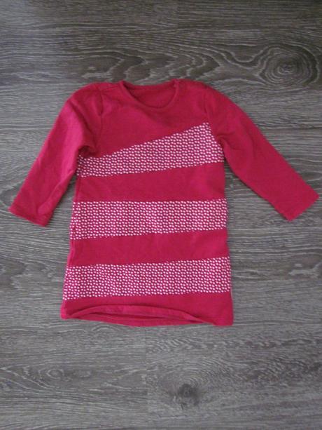 Delší tričko, šaty v. 86, 86