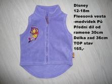 Fleesová vesta, disney,80