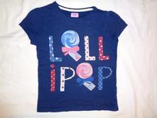 Kouzelné tričko s bonbónkama, f&f,116