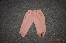 Dívčí růžové tepláky coniglio, vel. 80, 80