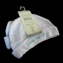 Bavlněné čepice, 2 ks, cep-0033-02, 62
