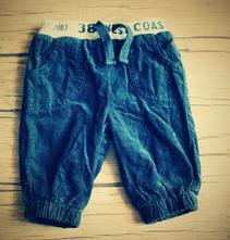 Vyteplené kalhoty pro miminko, f&f,62