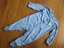 Modrý overal - dírka, nutmeg,68