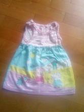 Bavlněné šaty prasatko peppa, 74