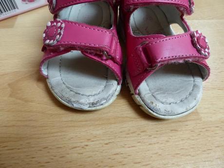 Růžové sandálky s nápisem love, nelli blu,20
