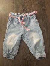 Letní džínové kalhoty, pepco,68