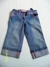 Džínové 3/4 kalhoty, cherokee,110