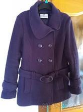 Fialový zimní kabát, clockhouse,40