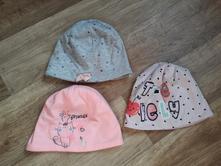 Bavlněné čepice vel. 74/80 zn. pepco, pepco,80