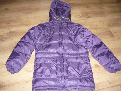 Krásná, péřová zimní bunda, vel. s, s