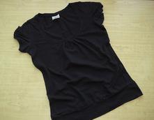 Černé tričko terranova vel. l, terranova,l