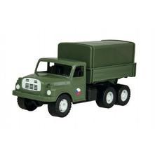 Auto nákladní tatra 148 khaki vojenská plast 30cm,