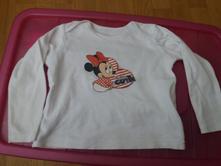Tričko minnie mouse, disney,92