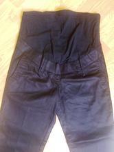Černé těhotenské kalhoty, 38