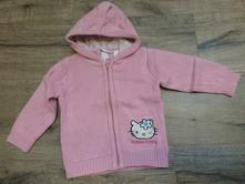 Svetřík na zip hello kitty 12-18m, h&m,86