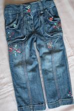 Dívčí vyšívané rifličky, cherokee,98