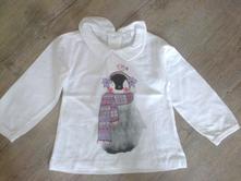 Tričko s límečkem a tučňákem, pepco,86