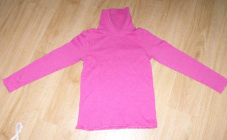 E111. dívčí růžový rolák, lupilu,110