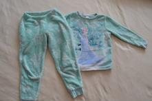Teplé dívčí pyžamo frozen, c&a,110