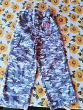 Kalhoty maskáčové holčičí vel. 4 - 5 let., cherokee,104