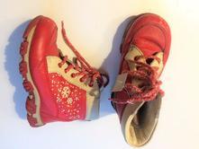Kožené zimní boty č.166, 26
