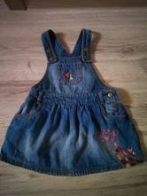 Krásné riflové šaty, f&f,98