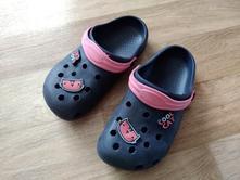 Tmavě modré gumové pantofle, pepco,33