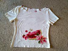 Bílé tričko s ovocem, m