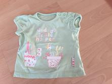 Tricko daddys little helper vel. 3-6 m, mothercare,68