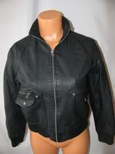 Jarní bunda ze syntetické kůže-m&s, marks & spencer,140
