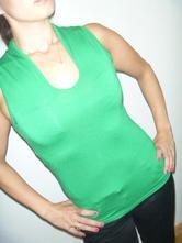 Zelený top, orsay,s