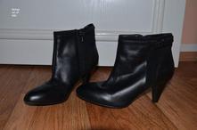 Jarní/podzimní kotníkové boty na podpatku, george, george,37