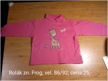 Rolák, frog,86