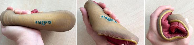 Dětské boty a ohebná podrážka vhodná pro děti