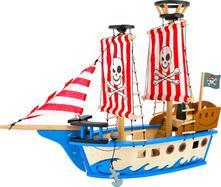 Dřevěná pirátská loď jack (67 cm),