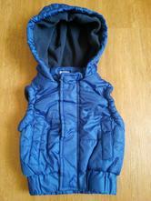 Modrá zimní vesta, f&f,62