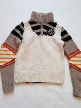 Značkový teplý svetr, replay,36