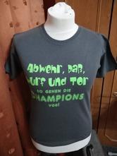 Triko zelené s nápisem, xl