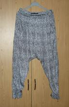 Zara harémové kalhoty, zara,s