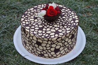 Pro prababičku k 90. narozeninám - čokoládový