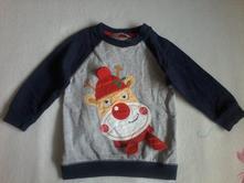 Vánoční mikina zn. m&co., 86