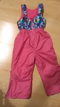 Lyžařské vyteplené kalhoty vel. 98, oteplovaky, kiki&koko,98
